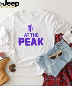 Mountain West Conference at the peak shirt