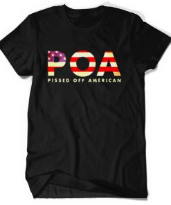 Best pOA pissed off American shirt