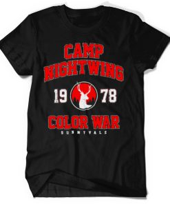 Camp Nightwing Color War 1978 Sunnyvale shirt